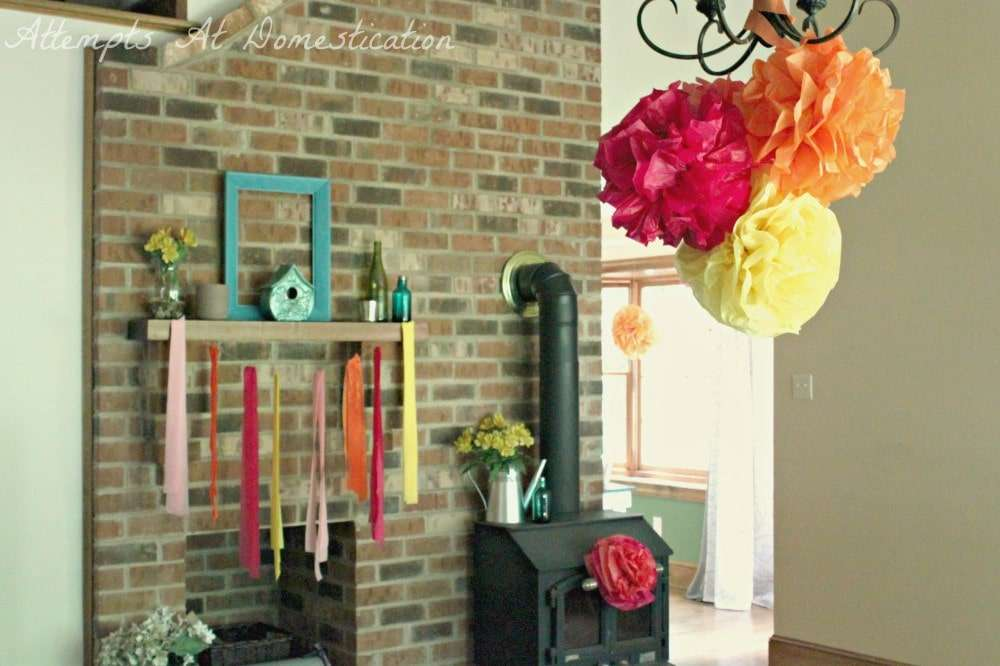 living room party decorations