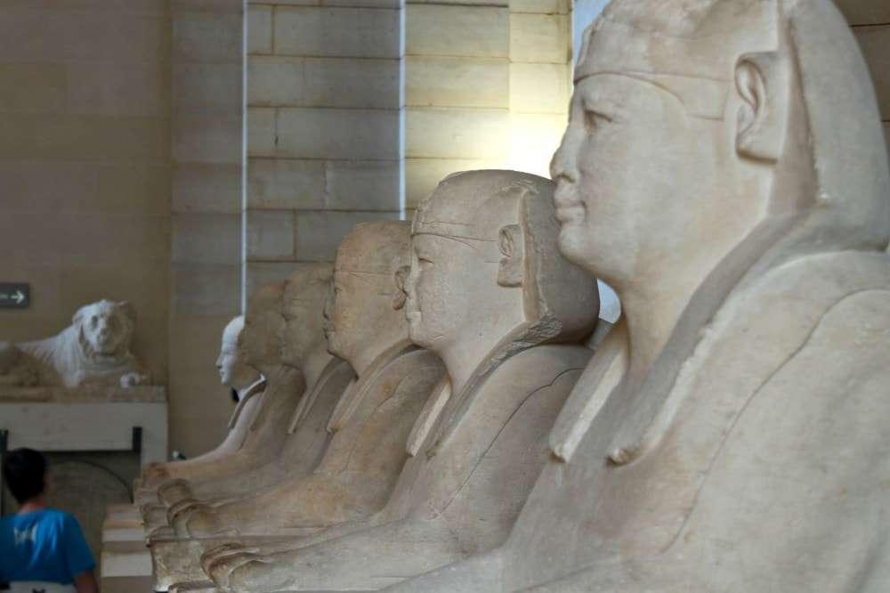 Paris - Egypt Statues
