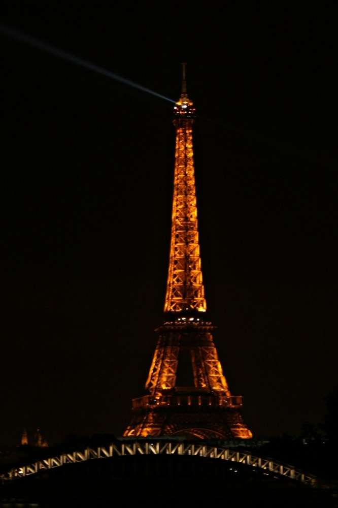 Paris - Eiffel Tower night