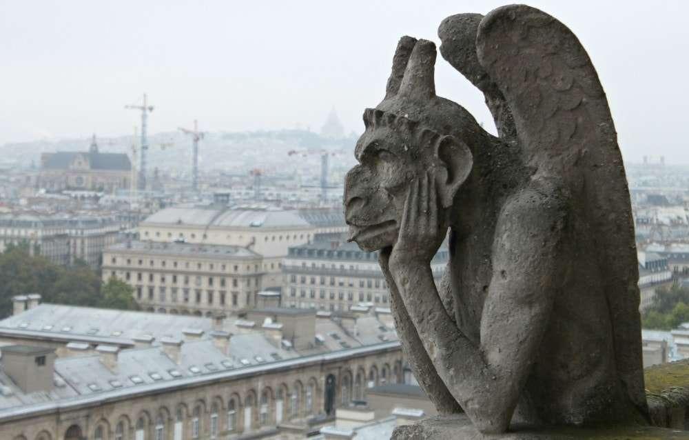 Paris - Notre Dame Gargoyle