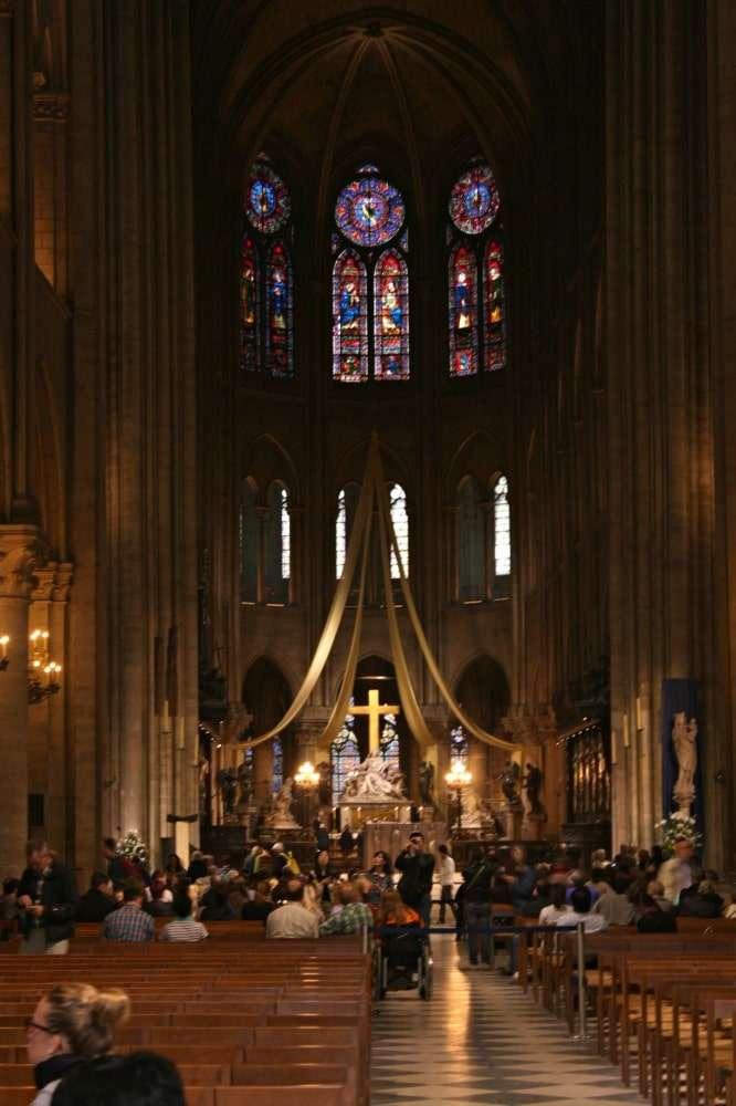 Paris - Notre Dame inside