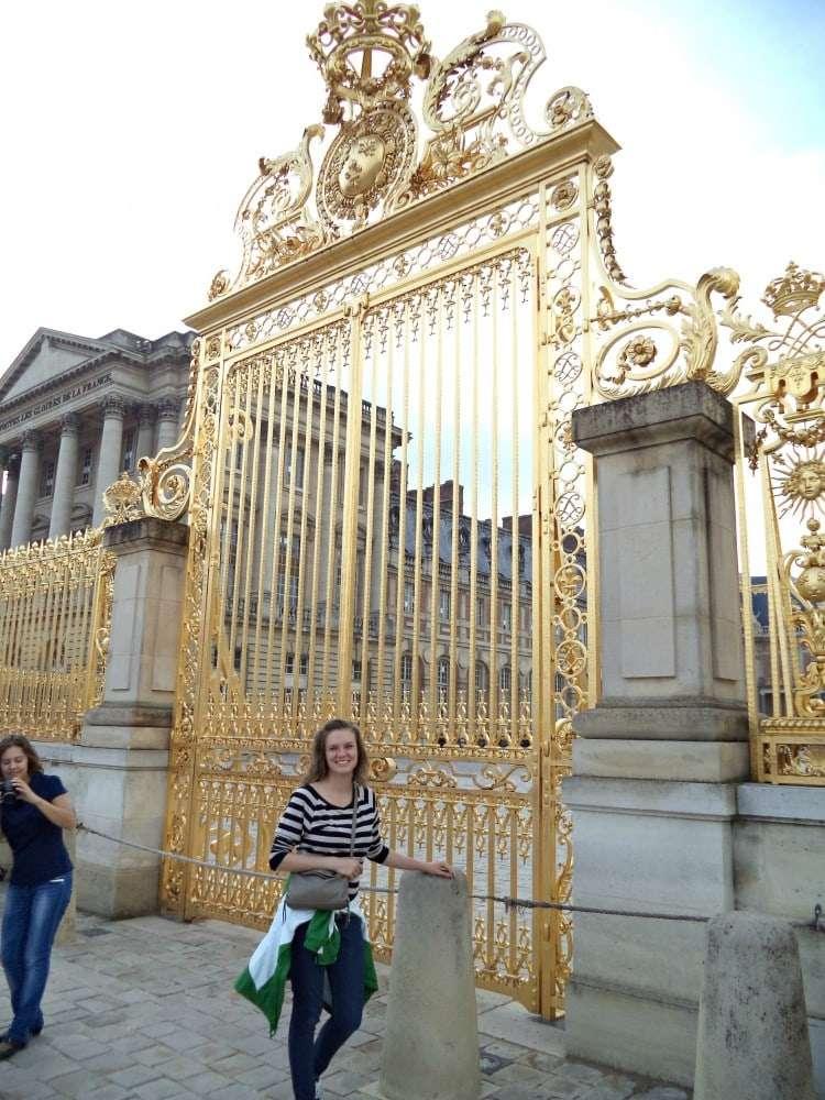 Paris - Versailles gates