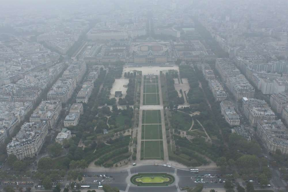 Paris - view from Eiffel Tower