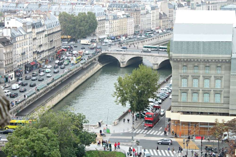 Paris - view from Notre Dame