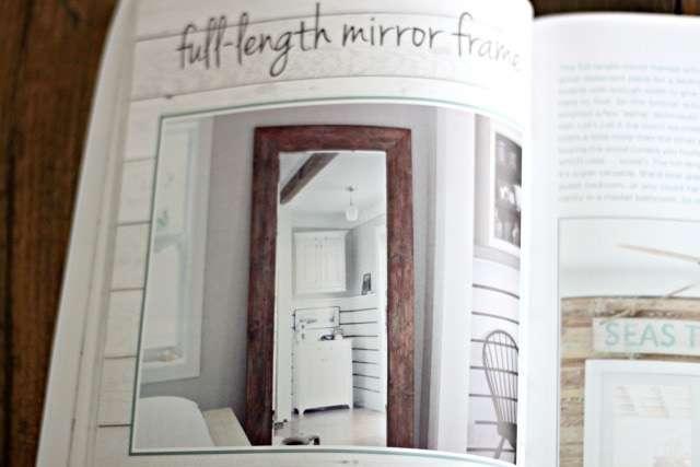 Pallet book - full length mirror