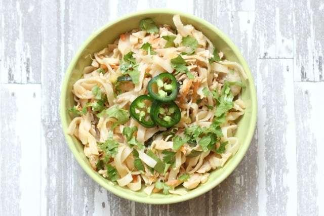 savory pad thai recipe