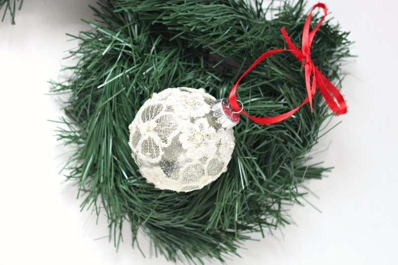 decorate glass ball ornaments