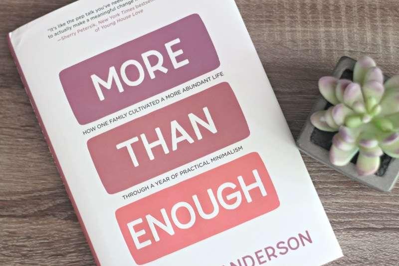 more than enough book review