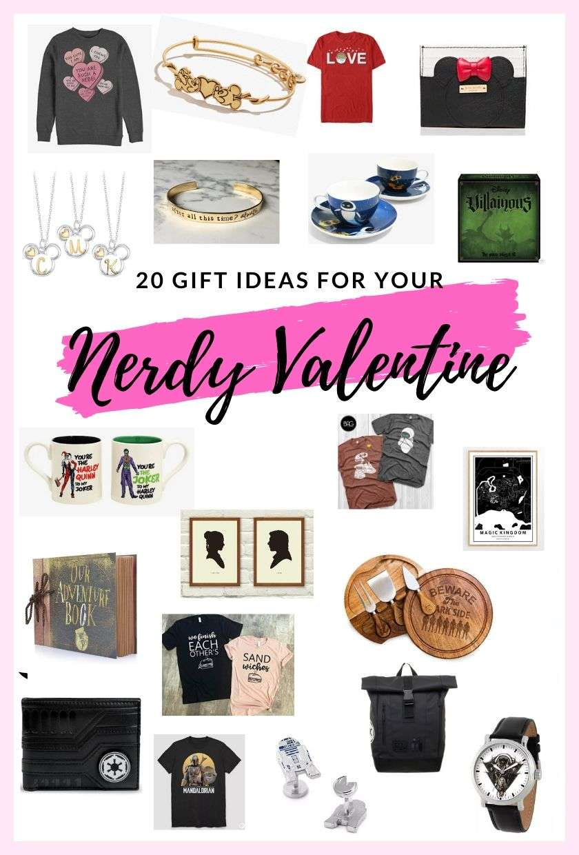 nerdy valentine gifts