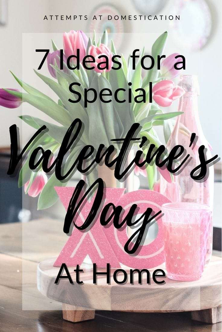 valentine's day at home